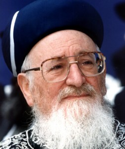 Rabbi Mordechai Eliyahu