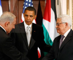 obama abbas and netanyahu