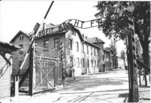 Auschwitz Entrance