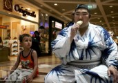 The Japanese Sumo Wrestlers Take the Holyland by Storm