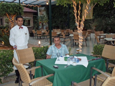 Roots Club Restaurant in Gaza