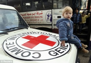 Red Cross Leaves Gaza