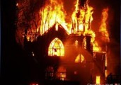 Christian Churches are Burning in the West Bank and Gaza
