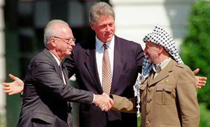 rabin arafat clinton