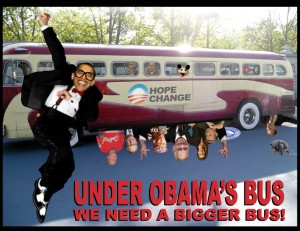 Under the Obama Bus