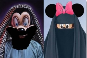 Mickey-and-Minnie-Islam-Cartoon