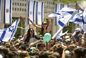 happy israelis