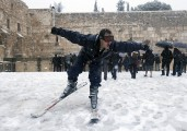 Here, In Israel, We Are Digging Ourselves Out From Under The Biggest Snowstorm in 150 Years…It's Beautiful, But Also, Deadly
