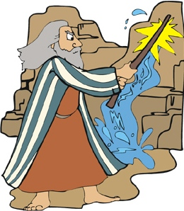 Moses Strikes the Rock