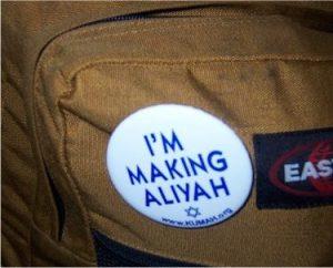 making aliyah