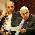 sharon and olmert