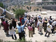 Israel tourism-Christian tourists